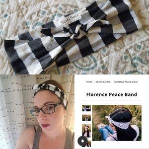 Buffalo Plaid Peace Band ▪